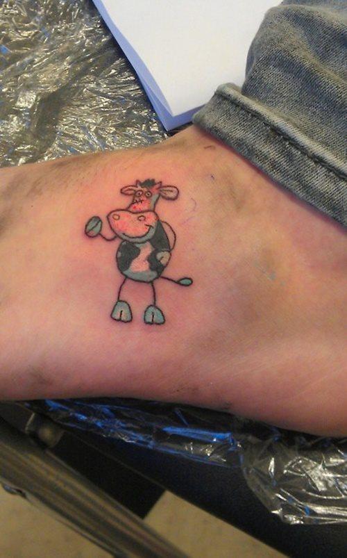 tatuaje vaca 337