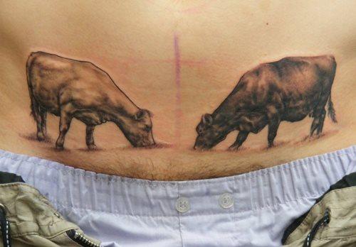 tatuaje vaca 340