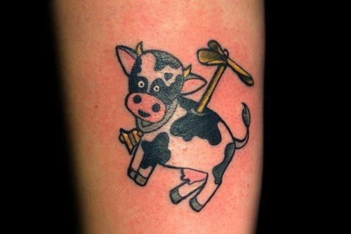 tatuaje vaca 341