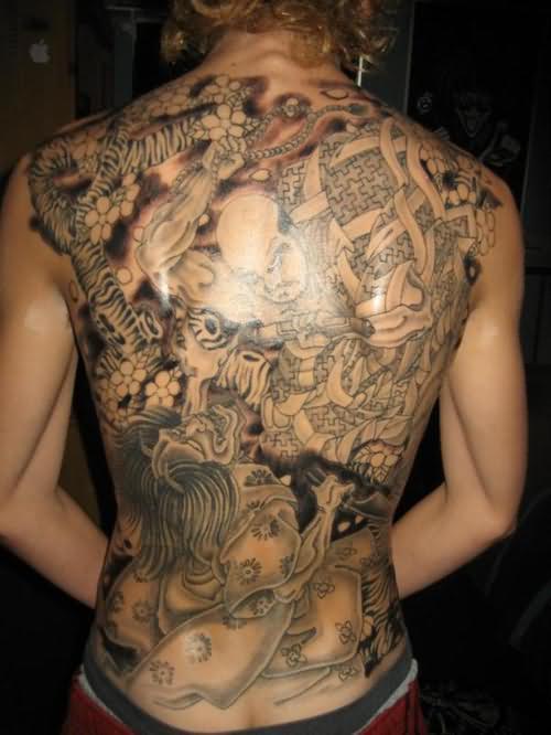 Tatuajes de oriente: 200 Diseños Japoneses