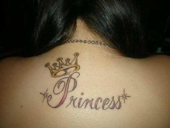 Tatuaje De Una Corona En La Espalda Sfb