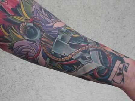 146 Tatuajes De Anclas Marinas Mezcladas Con Otros Diseños