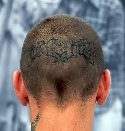 103 Tatuajes Chocantes En La Cabeza Que Te Sorprenderán