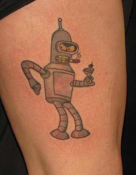 110 Tatuajes De Dibujos Animados O Películas Infantiles