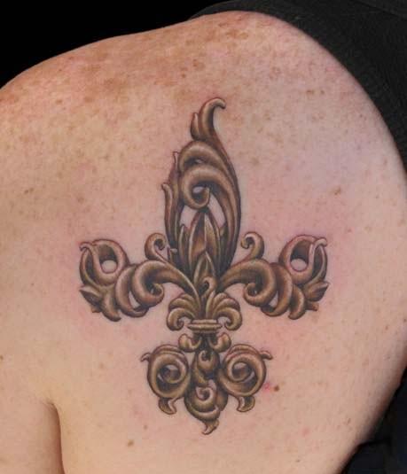 101 Imágenes Con Tatuajes De La Flor De Lis