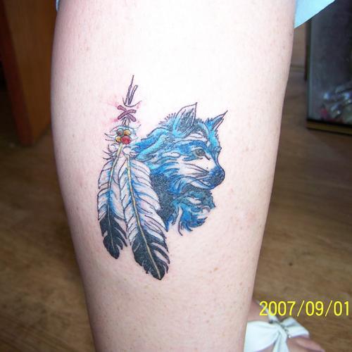 Tatuajes De Plumas Indias Y De Otros Tipos