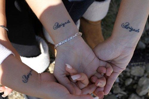 78 Tatuajes Para Simbolizar La Amistad Y Que Sois Buenas Amigas
