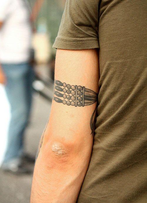 Muchos Tipos Diferentes De Tatuajes De Brazaletes - Tatuajes-de-brazaletes-para-el-brazo