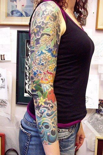 99 Tatuajes en el brazo Tambin de manga y media manga