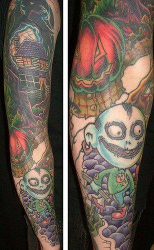 99 Tatuajes En El Brazo Tambien De Manga Y Media Manga
