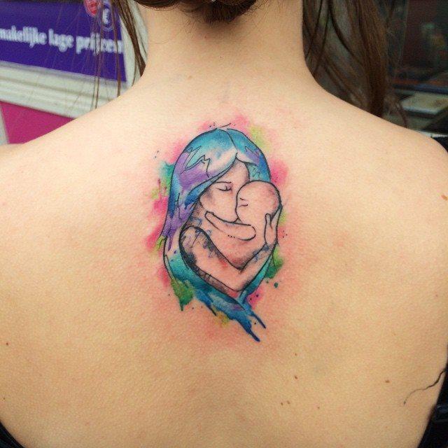 Tatuajes Para Madres E Hijos O Hijas Que Simbolizan Amor