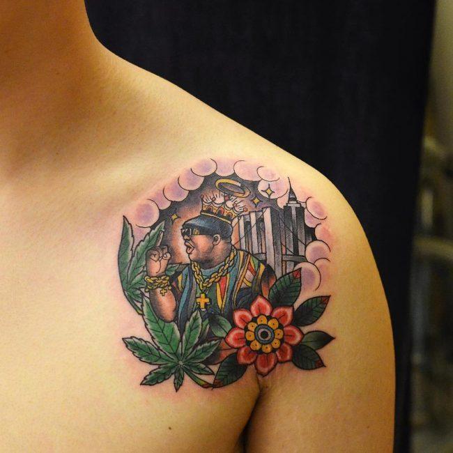 tatuaje cannabis182