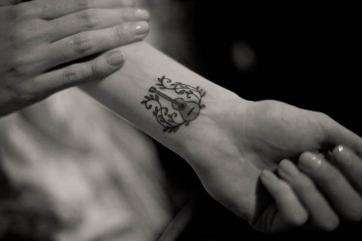 Tatuajes De Claves De Sol Y Fa También Notas De Música