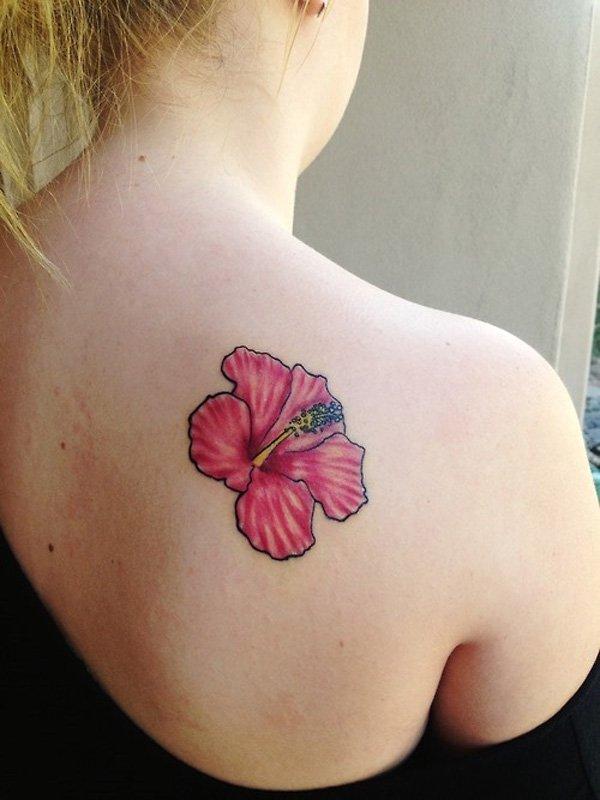 Flores Hawaianas Tatuajes De La Flor Del Hibisco Y Otras - Flor-hawaiana-tattoo