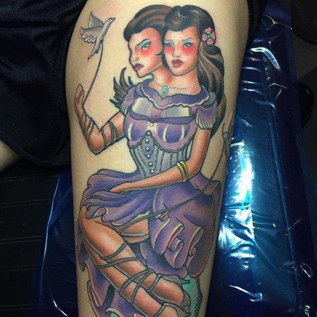 tatuaje Geminis138
