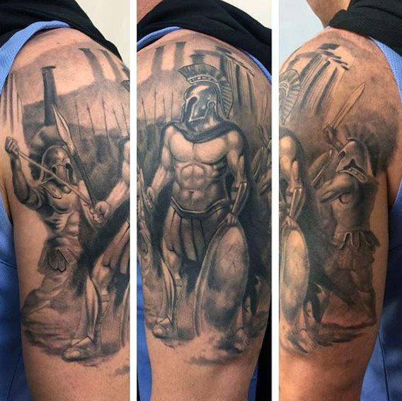 63 Tatuajes Griegos Ojos Dioses Y Otros Simbolos