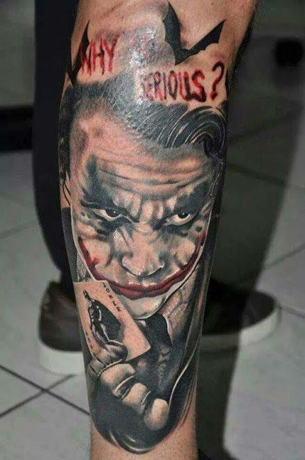 Tatuajes Del Joker Algunos Con Pistolas Y Cartas
