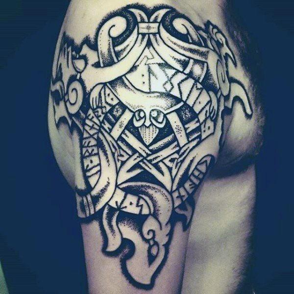 68 Tatuajes Nordicos Los Temibles Vikingos