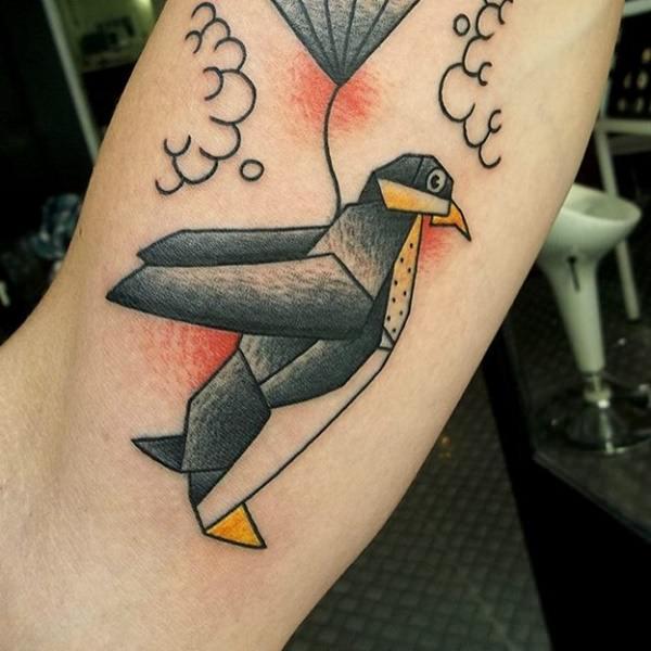 tatuaje Pinguino138