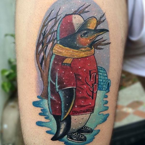 tatuaje Pinguino147