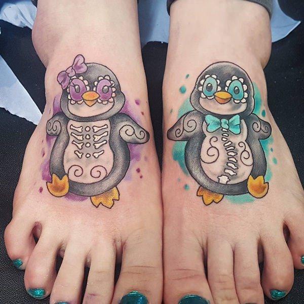 tatuaje Pinguino155