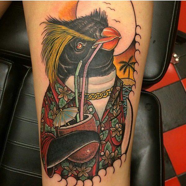 tatuaje Pinguino203