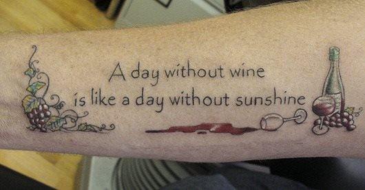 tatuaje Vino121