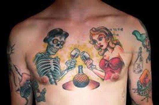 tatuaje Vino123