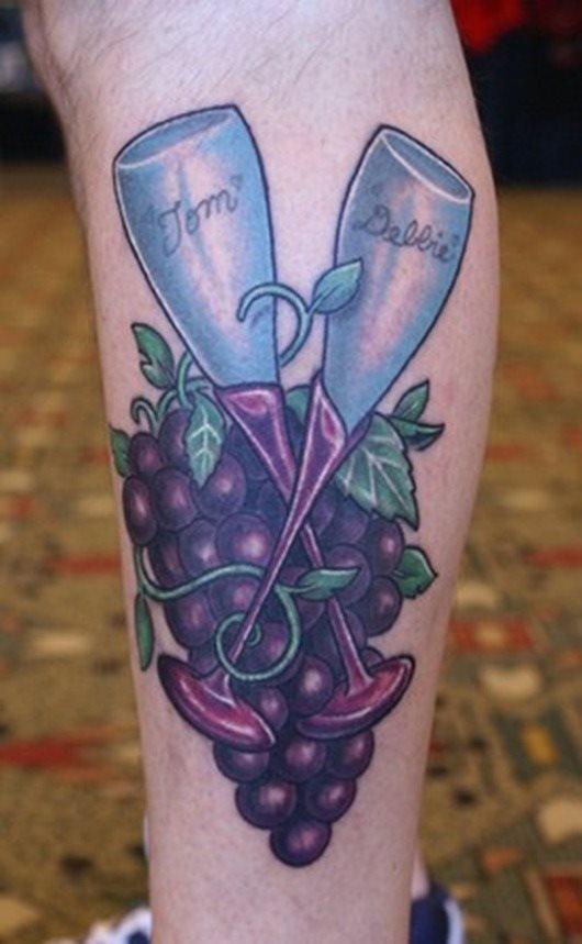 tatuaje Vino127