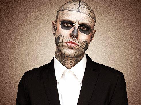 Tatuajes En El Rostro O La Cara