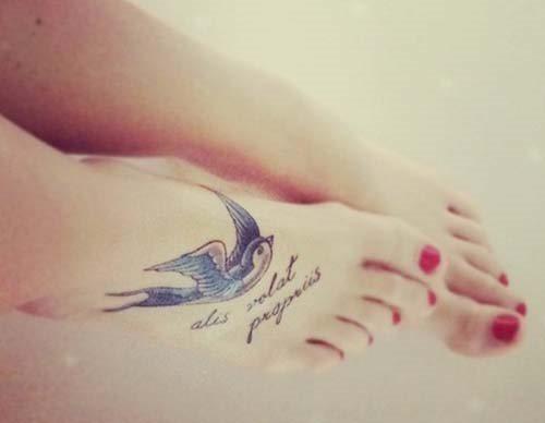 Tatuajes De Golondrinas 80 Imágenes