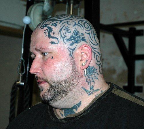 81 Detaillierte Tattoos Am Kopf: 80 Tatuajes Con Muchos Detalles En La Cabeza