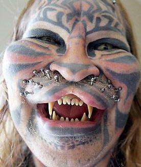 44 Tatuajes Extremos Raros Originales Y Extravagantes