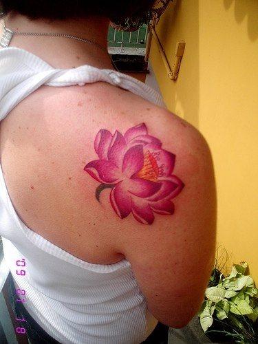 Imagenes Y Tatuajes 104 Flores De Loto