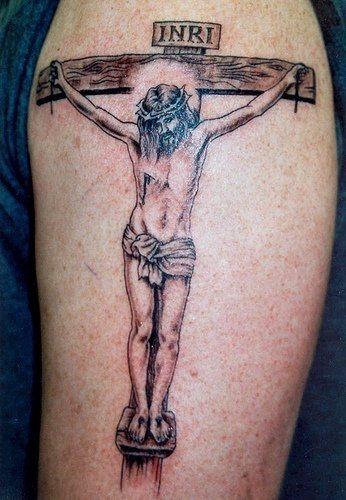 Tatuajes De Jesus Crucificado En El Antebrazo Ideas De Tatuajes