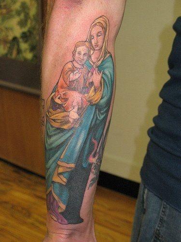 Tatuajes de jesucristo o Jesús para devotos