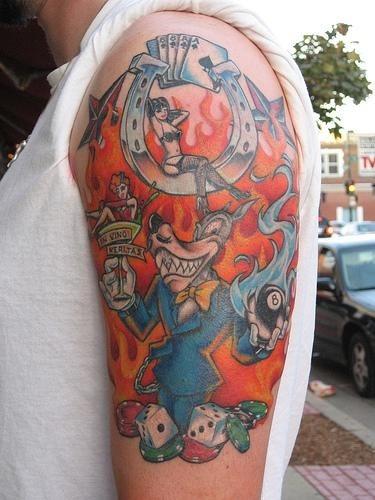 Piernas tatuaje corazon - 2 9