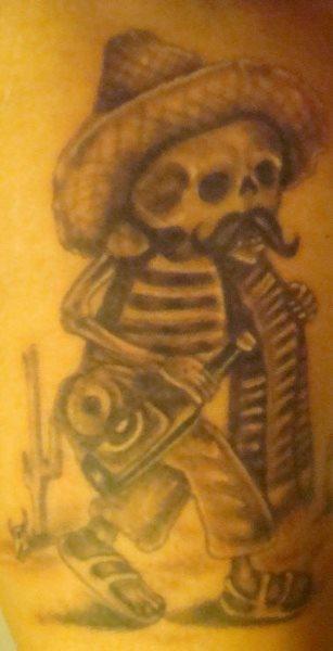 tatuaje mexicano 1010