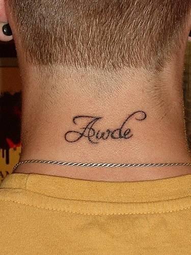 113 Tatuajes Para La Nuca O Detrás De La Oreja