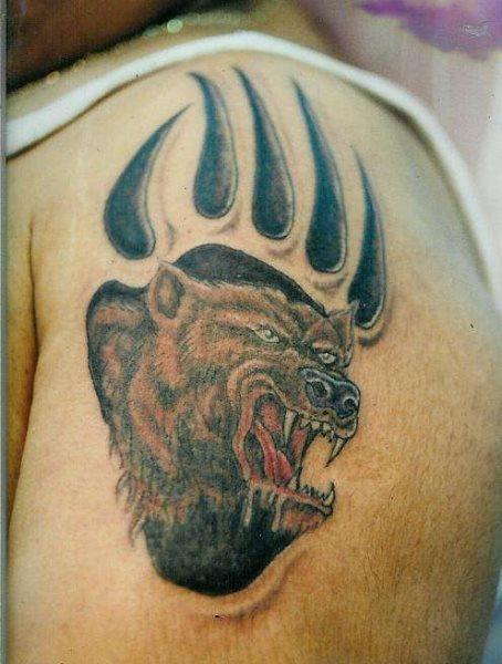 56 Tatuajes De Osos Y Algunos De Huellas