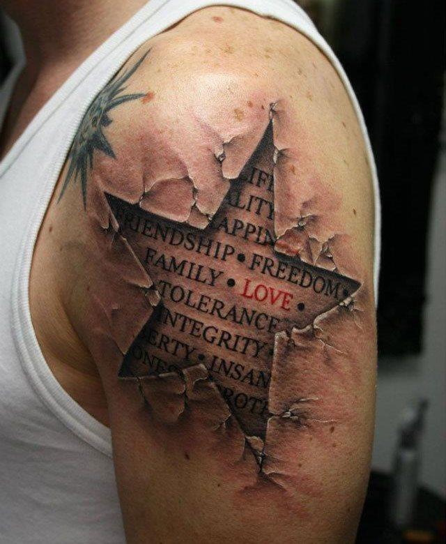 56 Tatuajes 3d Que Tienen Relieve