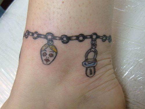 117 Tatuajes De Aros Pulseras Y Brazaletes