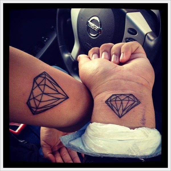 50 tatuajes de piedras preciosas diamantes y gemas for Tattoo supply los angeles