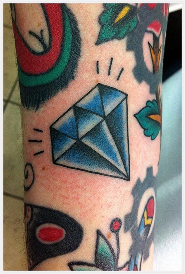 50 Tatuajes De Piedras Preciosas Diamantes Y Gemas