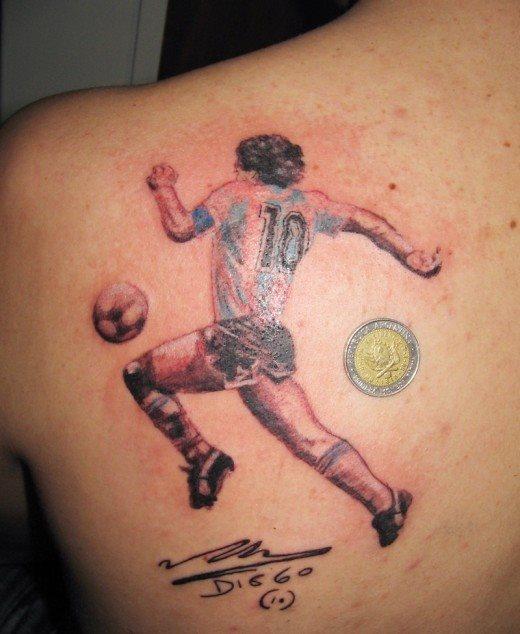 45 Tatuajes Deportivos Motivos De Fútbol