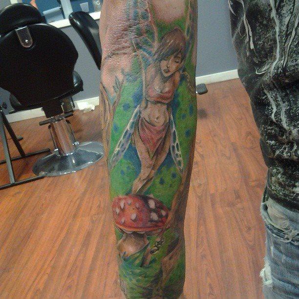 99 Tatuajes De Ninfas Hadas Y Otros Seres