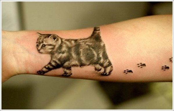 58 Tatuajes Con Huellas De Perros Bebés Y Otros Animales