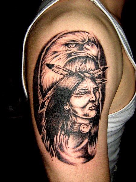 Nuevos Fotos Y Motivos 80 Tatuajes De Indios