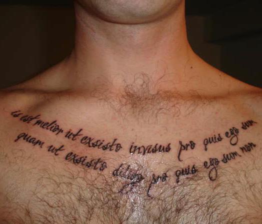 50 Tatuajes De Palabras Y Frases En Latin