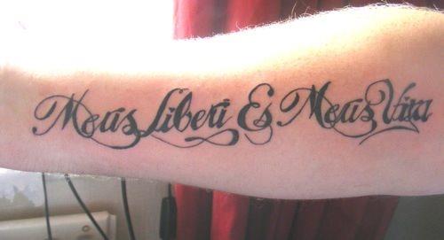 50 Tatuajes De Palabras Y Frases En Latin - Frases-positivas-para-tatuajes